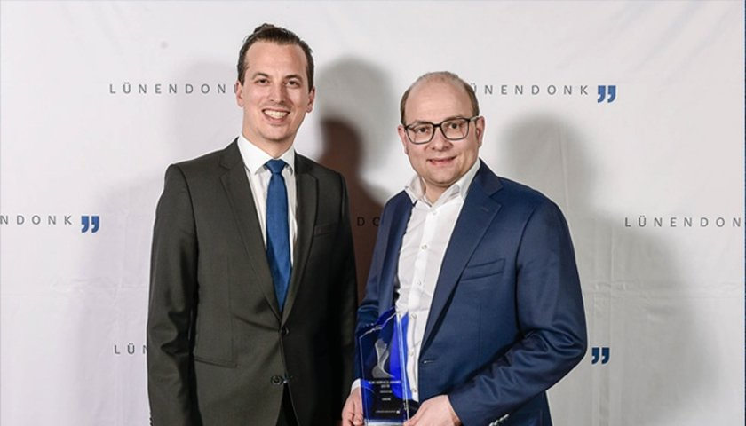 "Celonis receives the Lünendonk B2B-Service Award 2019 in the ""Innovation"" category for its Intelligent Business Cloud"