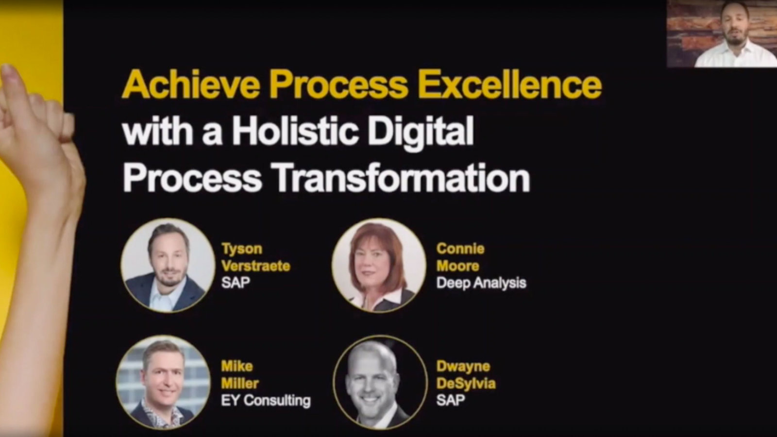 SAP: Unleash the Benefits of Holistic Digital Process Transformation