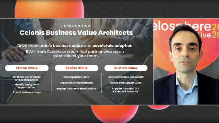 Video: Drive Value with Celonis - Supercharge your results with a Business Value Architect