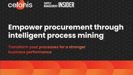E-Book: Empower Procurement through Intelligent Process Mining (with Supply Management Insider) - preview image
