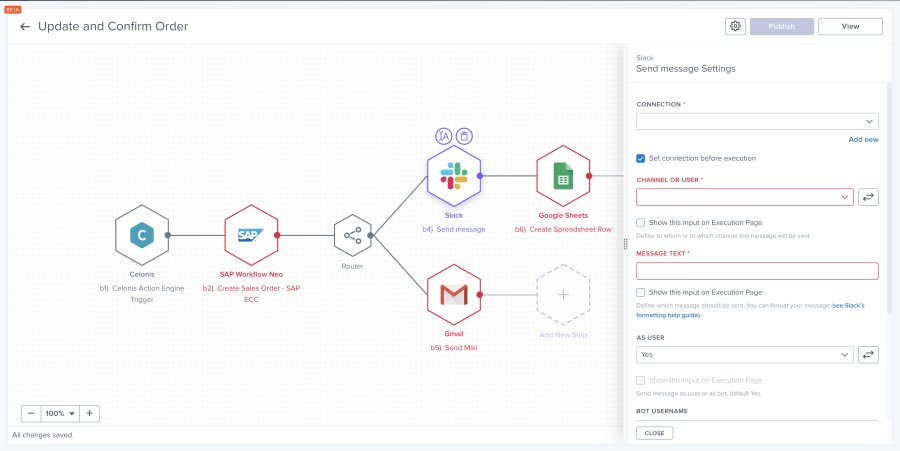 Screenshot - Process Automation - Workflow Builder