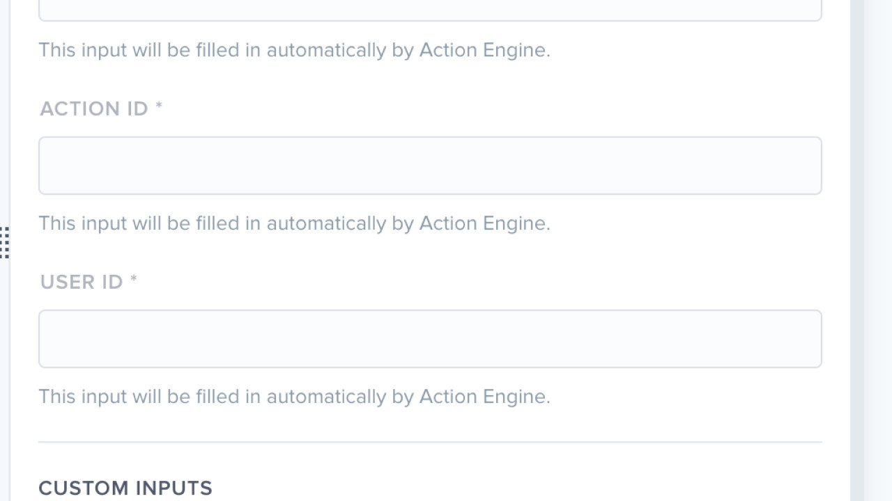Screenshot - Process Automation - Action Engine Triggers