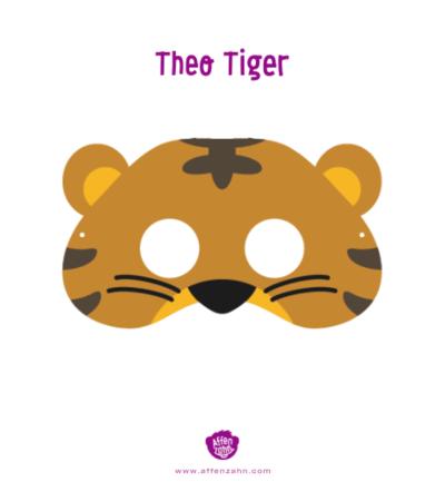 Affenzahn Animal Style Mask For Kids