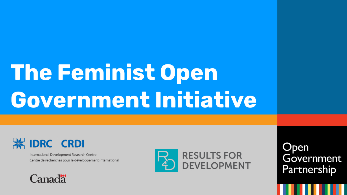 Feminist Open Government