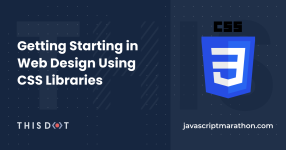 Getting Starting in Web Design using CSS Libraries logo