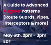 A Guide to Advanced Angular Patterns (Route Guards, Pipes, Interceptors & more) logo