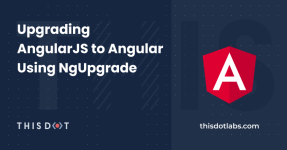 Upgrading AngularJS to Angular Using NgUpgrade logo