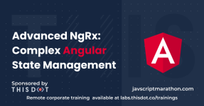 Advanced NgRx: Complex Angular State Management logo