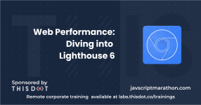 Web Performance: Diving into Lighthouse 6 logo