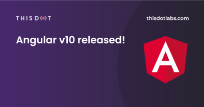 Angular v10 released!