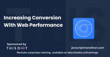 Increasing Conversion With Web Performance logo