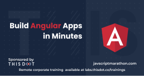 Build Angular Apps in Minutes logo