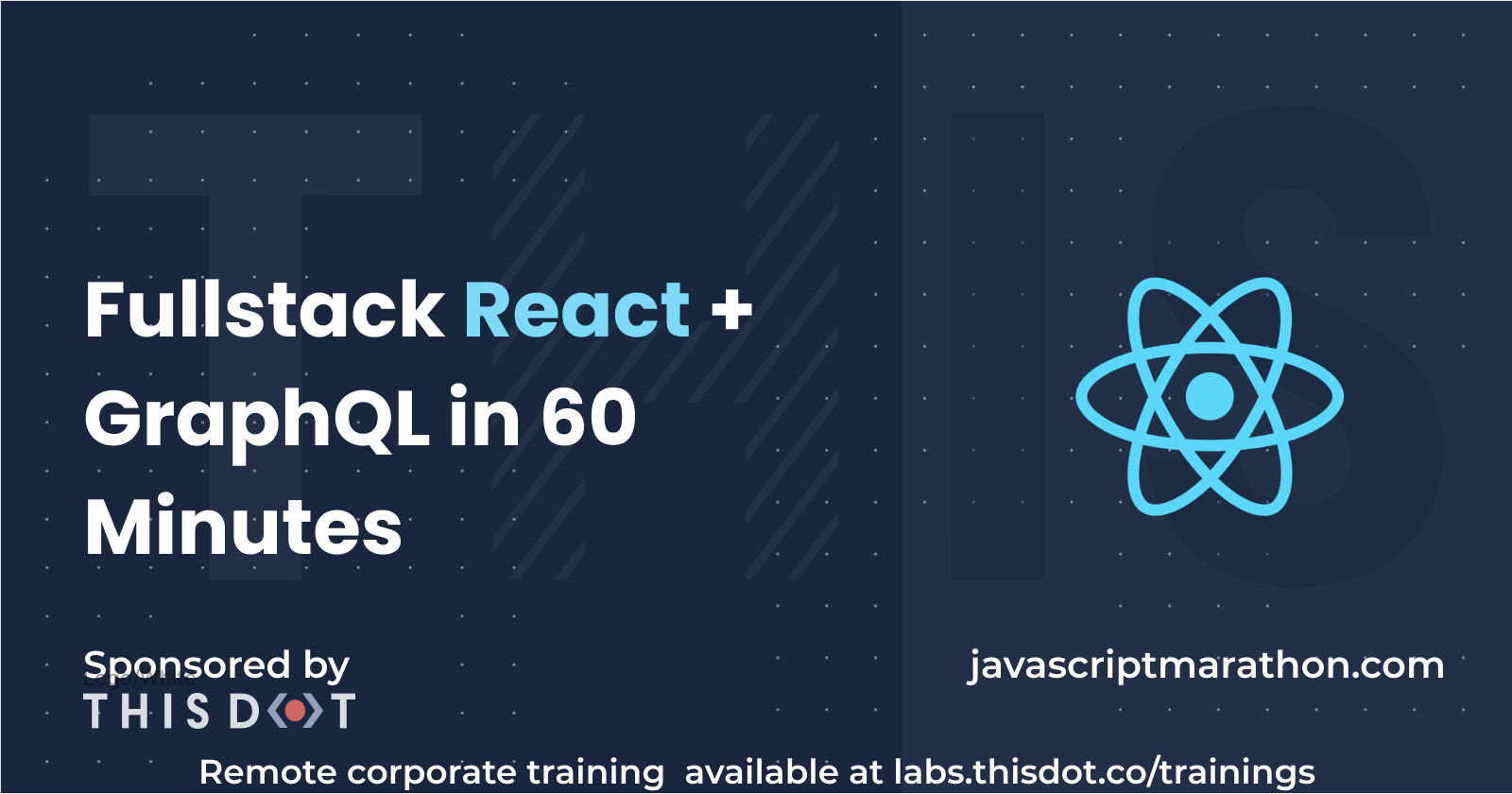 Fullstack React + GraphQL in 60 Minutes (image)