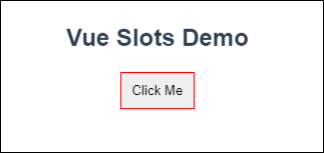 Slot with default content