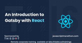 An Introduction to Gatsby with React logo
