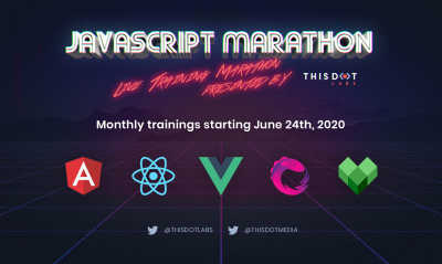 Announcing Free Monthly JavaScript Training with JavaScript Marathon!