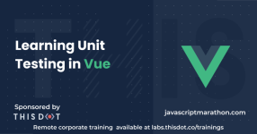Learning Unit Testing in Vue logo