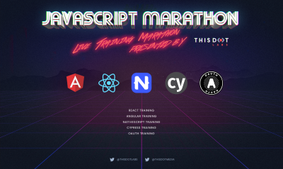 Announcing July JavaScript Marathon - Free, online training!
