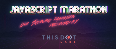 Announcing October JavaScript Marathon - Free, online training!