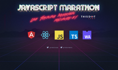 Announcing September JavaScript Marathon - Free, online training!