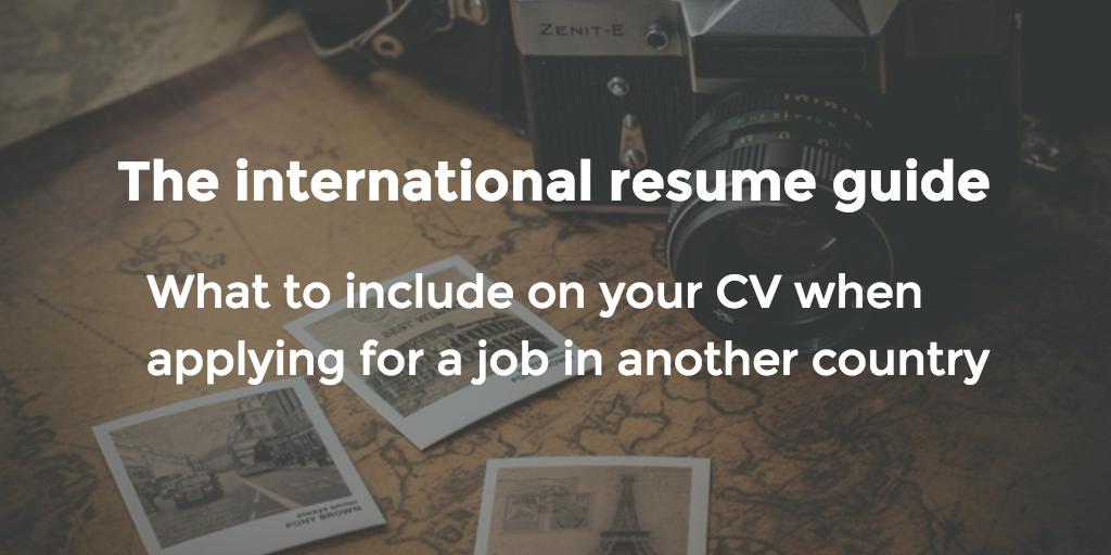 international-resume-guide