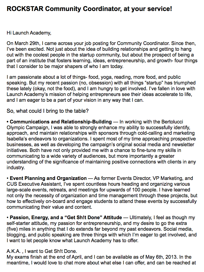 community-manager-cover-letter