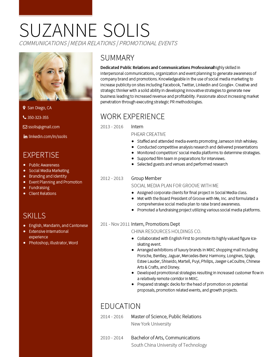 Gallant CV Template