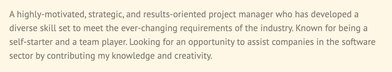 resume-basics-summary-section