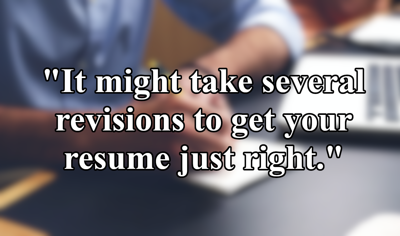 resume-writer-quote-revisions