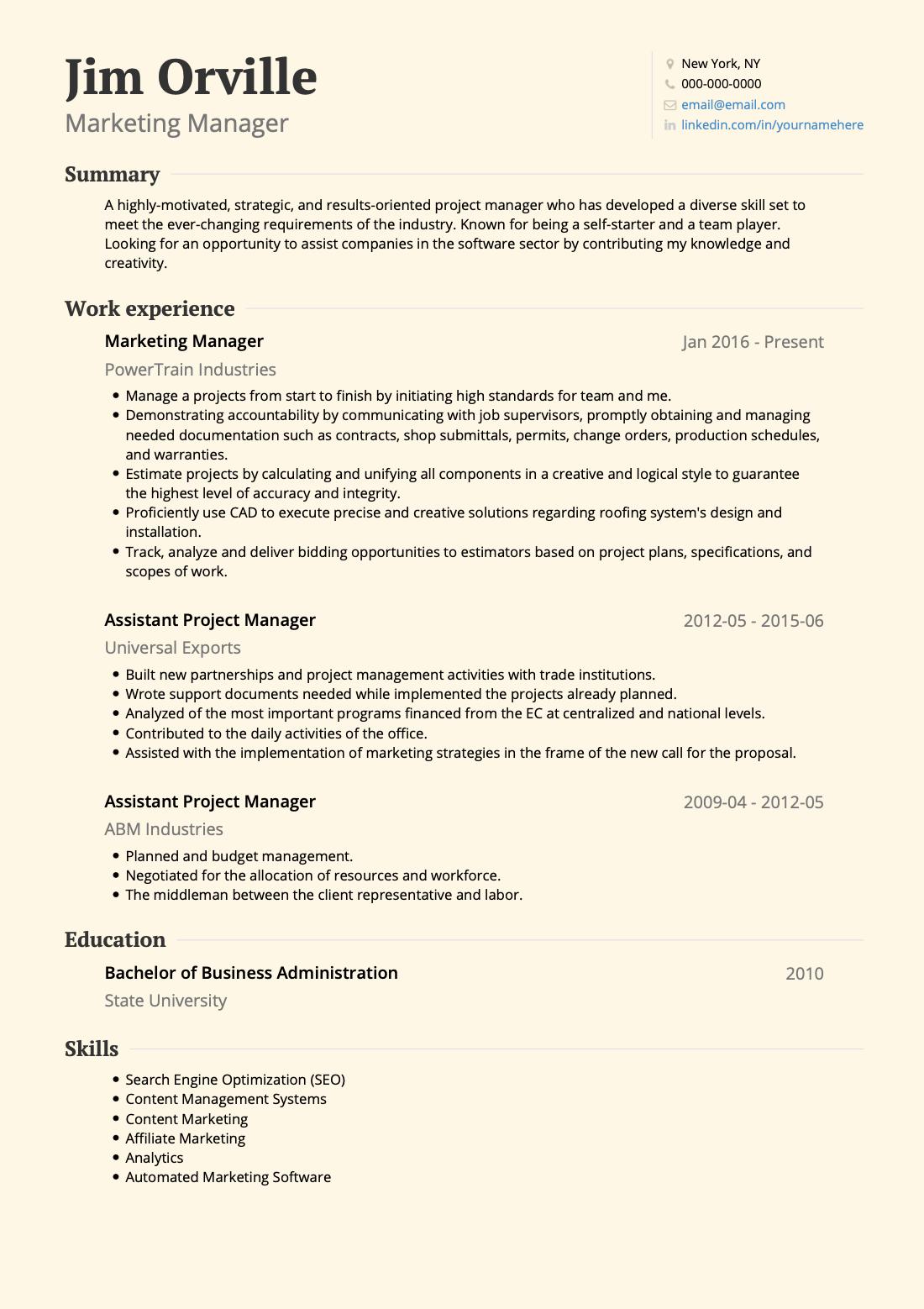 resume-basics-resume-example