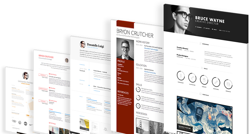 Create A Stunning Online Cv In Minutes