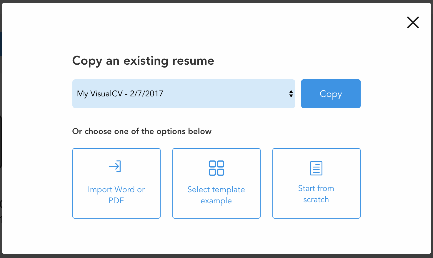 new-resume-popup