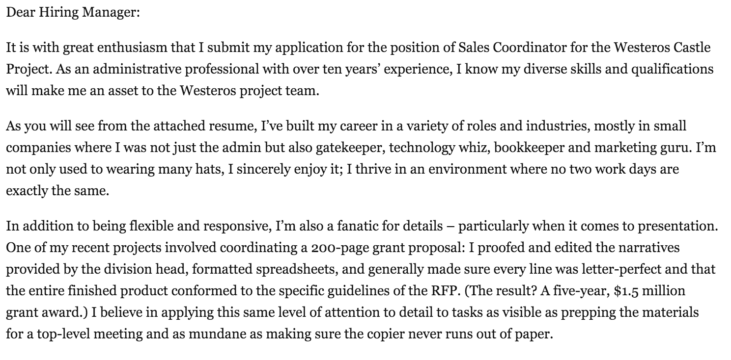 sales-coordinator-cover-letter