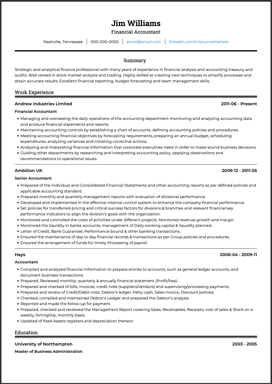 resume-basics-ats-example