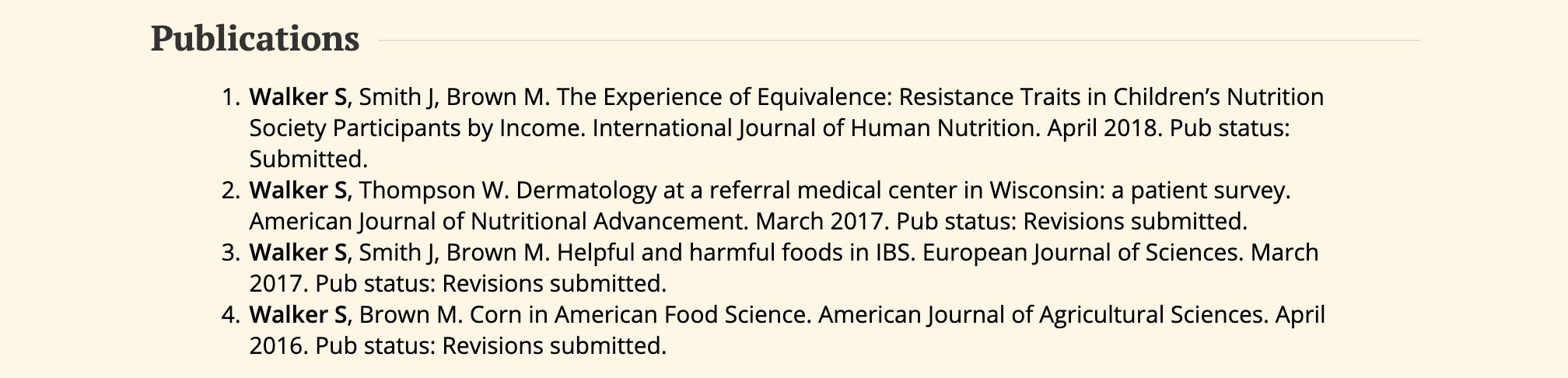 resume-basics-publications