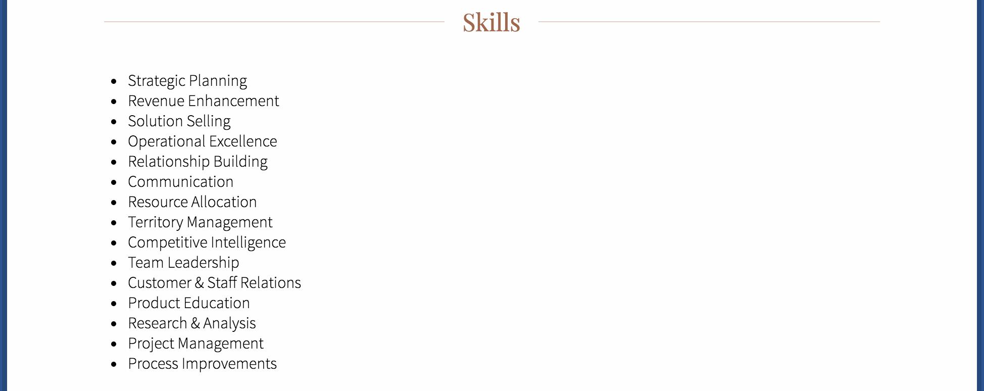 Skills 1