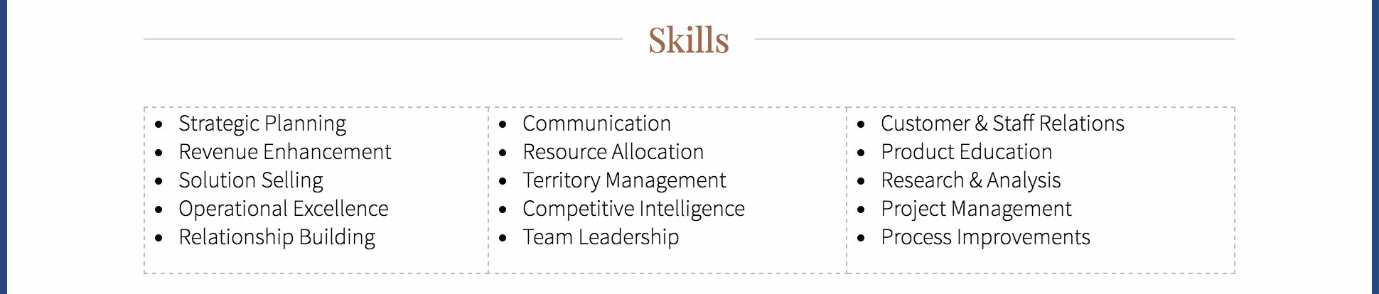 Skills 7