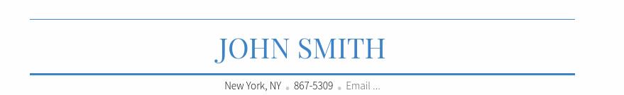 John Smith Blue