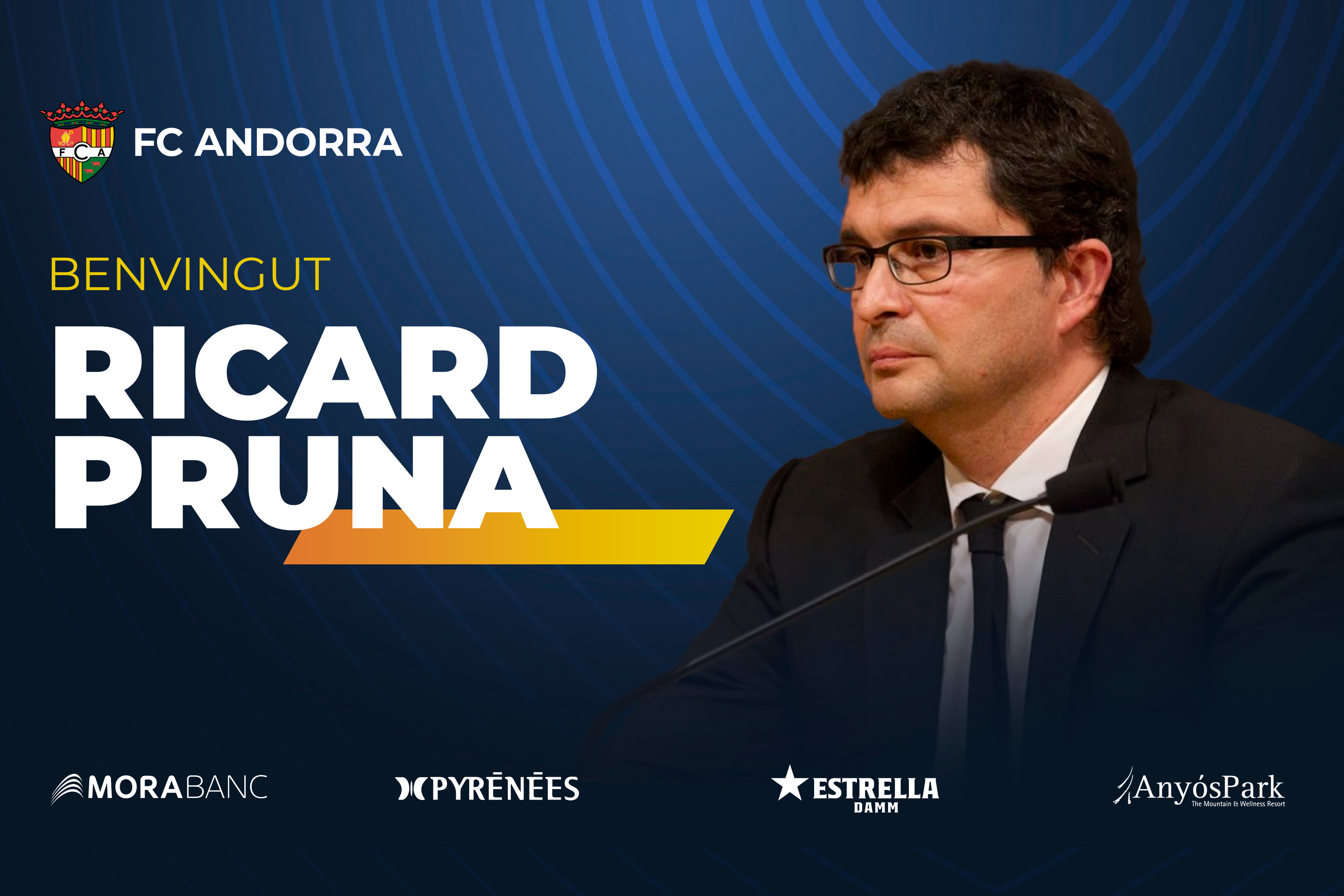 Ricard Pruna appointed medical advisor at FC Andorra