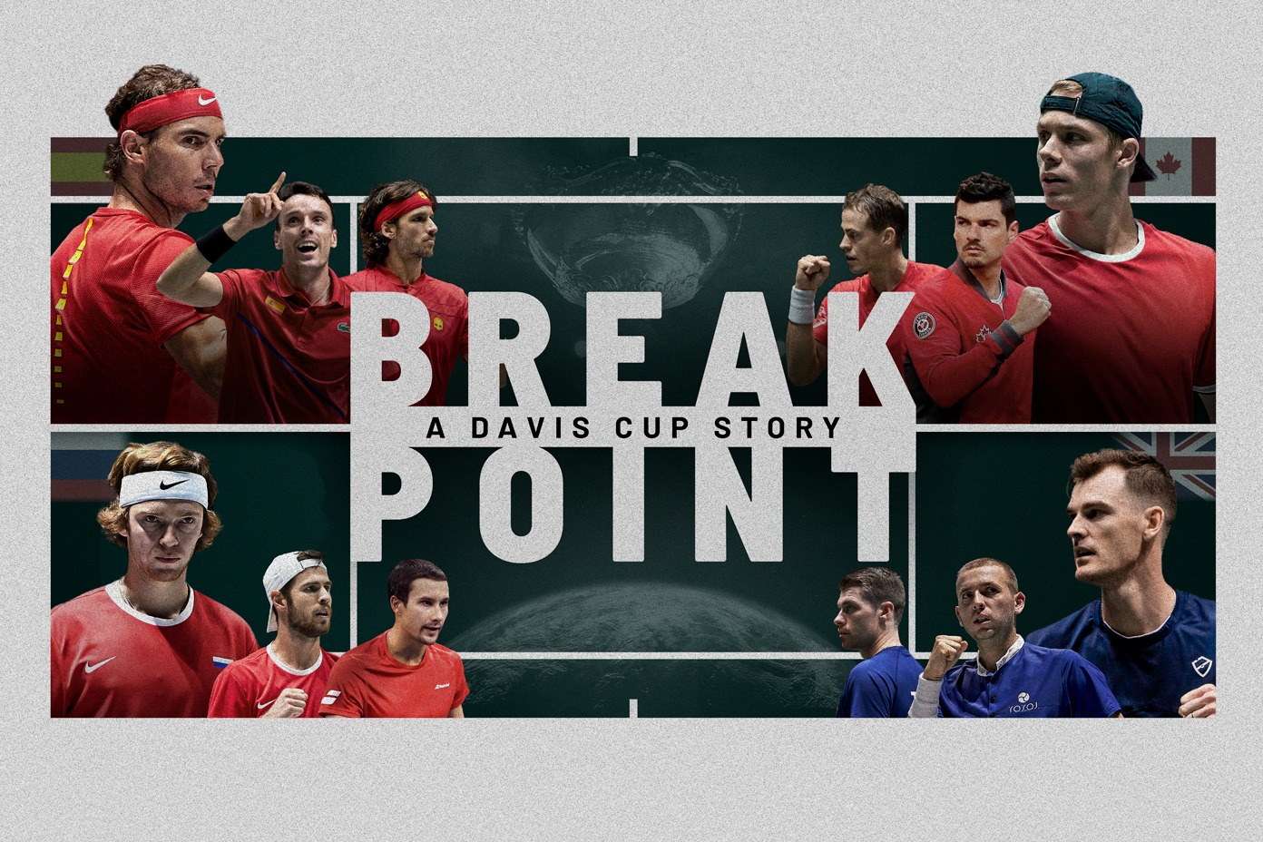 Rakuten TV presents Break Point: A Davis Cup Story