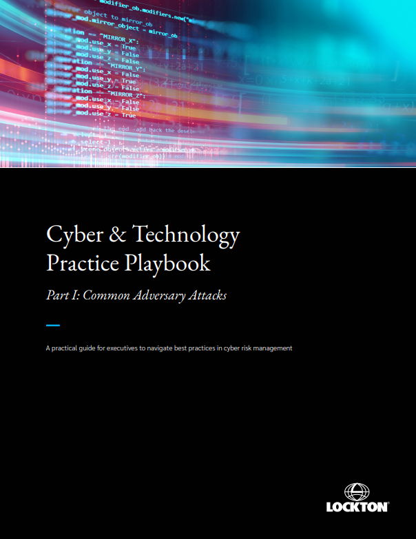 Cyber playbook cover image