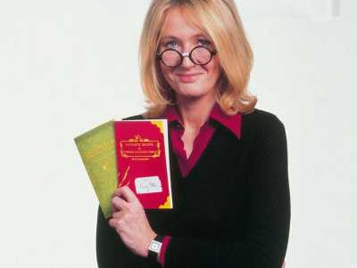 JK Rowling, author of Harry Potter