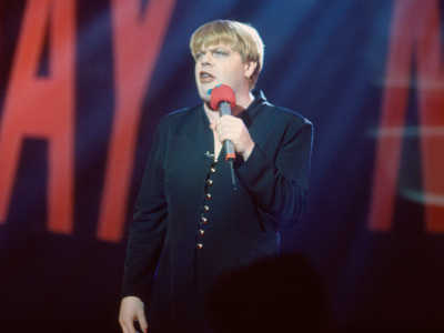 Eddie Izzard for Red Nose Day 1993
