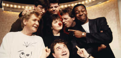 Presenters of Red Nose Day 1989