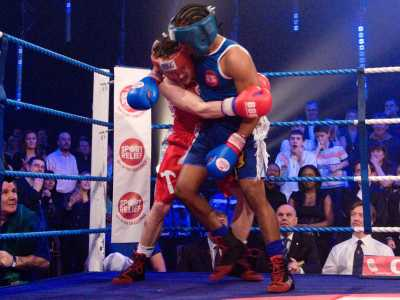 Lemar and Ben Shepard Fight Night for Sport Relief 2008