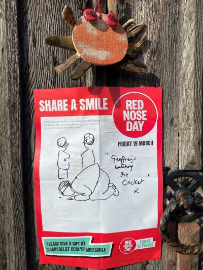 Charlie Mackesy's poster for Share a Smile