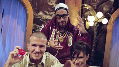 Ali G and the Beckhams
