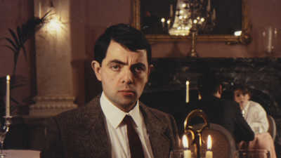 Mr Bean on a Blind Date