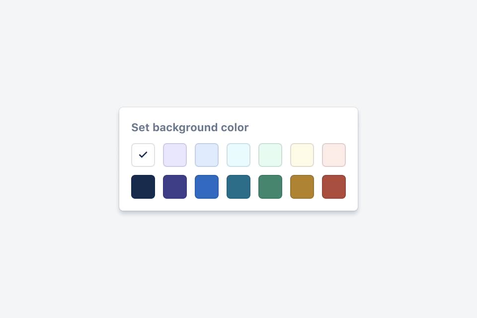 "alt=""Color palette. Color names in the following paragraph."""