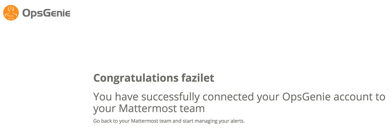 Mattermost account connect